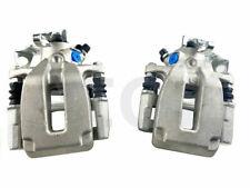2 REAR BRAKE CALIPERS COMPLETE +BRACKETS AUDI S3 TT GOLF MK4 V6 VENTED DISC