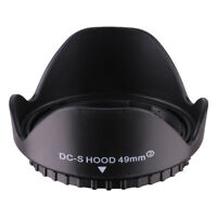 49mm Reversible Petal Flower Lens Hood For Nikon Canon Olympus DSLR Camera