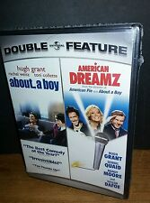 Double Feature: ABOUT A BOY & AMERICAN DREAMZ DVD 2 Disc Set BRAND NEW!!!!!