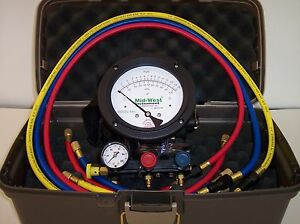 2021 NEW Mid-West 845-5 Valve Backflow Test Kit, N.I.S.T CALIBRATION DAY OF SALE