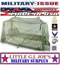 Military Issue MOSQUITO NETTING Cot Cover Mosquito Bar Skeeta Tent BRAND NEW!!!!