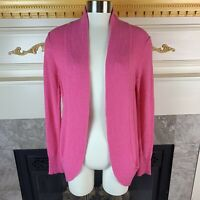 $138 New Lilly Pulitzer S Dragonfruit Long Sleeve Open Amalie Cardigan Sweater