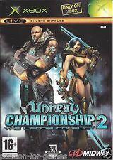 UNREAL CHAMPIONSHIP 2 THE LIANDRI CONFLICT for Xbox - with box & manual - PAL
