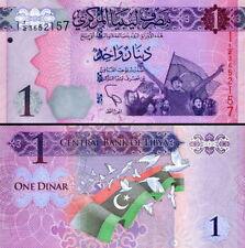 LIBIA - Libya 1 dinar 2013 FDS - UNC