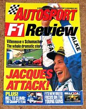 Autosport 1997 F1 REVIEW - Full Season Review, F1's Young Guns, Top 10 Drivers