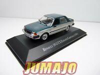 AQV40 Voiture 1/43 SALVAT Inolvidables 80/90 RENAULT 18 GTX Edition Limitée 1984