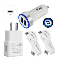 USB Fast Car&Wall Charger 6ft TypeC Cable For Samsung Galaxy S20 S20+ A71 S8