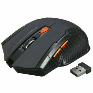 2.4GHz Wireless Optical Mouse Gamer Mice USB Receiver Mouse PC Gaming Laptop