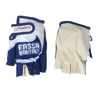 GUANTI CICLISMO VINTAGE TEAM FASSA BORTOLO CYCLING GLOVES SIZES XL XXL NEW