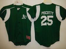 0213 Boys Youth Oakland A's Athletics STEPHEN PISCOTTY Full Buttondown JERSEY