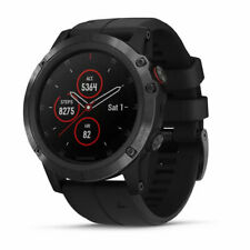 Orologio escursionismo Outdoor GARMIN Fenix 5X PLUS Sapphire Black 51 mm
