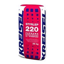 Adhesive Reinforcing Insulation Board Basecoats Kreisel Styrlep 220 48x25KG