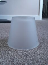 Brand New Small Frosted Glass Lamp Shade