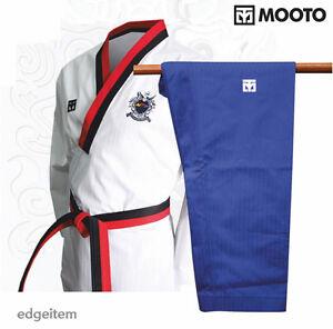 MOOTO Poomsae WTF Poom Uniform (Male) Taekwondo Dobok TKD Tae Kwon Do
