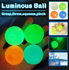Nuevo 8Pcs colores Crayola globbles Tiktok Bolas Brillan Juguete Ball Free Ship/4.5CM