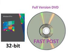 Windows 8.1 Professional 32-Bit + Bootable Installation DVD Full Version PRO 8