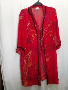 TAKING SHAPE over blouse tunic shirt kimono size18 Plus Ts
