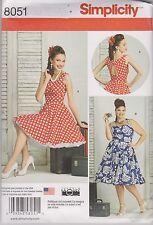 Fron UK Sewing Pattern Misses' & Women's Dress Size 20w - 28w us # 8051