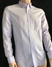 de19da557727 Ted Baker London Lilac Mini Circle Pattern Cotton L Sleeve Shirt Ted3 UK M