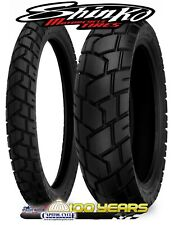 XT600 Shinko 90//90-21 /& 130//80-17 705 Tire /& Tubes Set XL600R KLR650 DR650SE