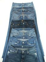 (Lot of Seven) 7 For All Mankind Bootcut Jeans Denim Original & A Pocket Size 29