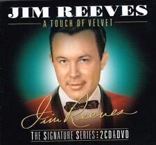 """JIM REEVES New DVD (region 4) & 2 CD set """"A TOUCH OF VELVET"""" 80 tracks"""