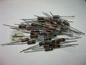 Assorted Resistor 1W Carbon Composition Grab-Bag - NOS Qty 40
