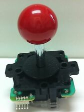 Japan Sanwa Joystick Red Ball Top Arcade Parts JLF-TP-8Y-R