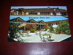 Hitching Post Inn, Cheyenne, Wyoming - vintage postcard