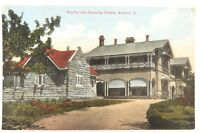 .SCARCE c1910 WARWICK, QLD HOSPITAL & THEATRE POSTCARD. F BARTON WARWICK No 2284