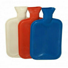 NEW 2L LITRE LARGE HOT WATER NATURAL RUBBER BOTTLE WARMER SMALL 500 ML