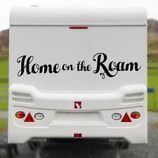 HOME ON THE ROAM XL STICKER Funny Caravan Bailey Swift Car Novelty Vinyl Decal