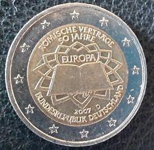 2 Euro Gedenkmünze Deutschland 2007 Römische Verträge D Umlauf