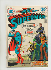 Superman #273-275 - Lot Of 3 The Fabulous World of Krypton 1974 (Grade 7.0-8.0)