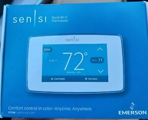 Emerson ST75W Sensi Touch Wi-Fi Thermostat Smart Integration and Multistage