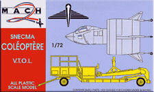 Mach 2 1/72 SNECMA Coleoptere VTOL and Launch Trailer # 2072