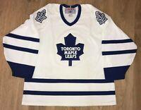 Toronto Maple Leafs rare vintage CCM NHL Hockey jersey size XL