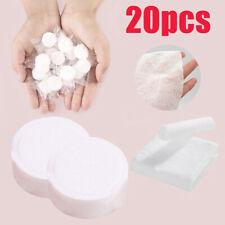 20PCS Portable Compressed Travel Towel Tablets Face Clean Tissue Home Salon