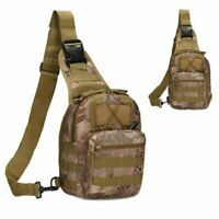 Camping Travel Outdoor Trekking Bag Shoulder Backpack Military Tactical Hiking
