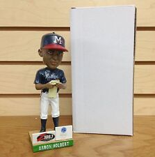 Aaron Holbert Mississippi Braves Manager Line Up Card 2015 Bobble Bobblehead SGA