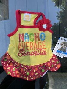 Simply Dog Nacho Average Senorita XS Pet dress