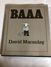 David Macaulay BAAA Signed Inscribed First Edition Hardcover with Dustjacket