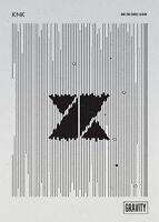 KNK - GRAVITY (2nd Single Album) CD+Photobook+Photocard+Standing Paper+Poster