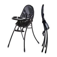 Highchair for the urban home Nano Midnight Black Black Frame Bloom