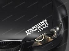 Mazda Performance Sticker for Bonnet CX-3 CX-5 Miata Mazda3 Mazda6 RX-8