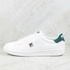 Mens Fila Crosscourt 2 F Low White/Green Trainers (PEF3) £59.99