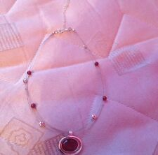 Beaded Wire Necklace (Handmade)