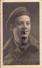 WW2 Soldier Unknown regiment RASC ?? Royal Army Service Corps ? Germany