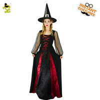 New Style Adult's Women Halloween Sexy Witch Role Cosplay Fancy dress Costume