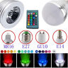 3W E27 E14 RGB LED Birne Farbwechsel Lampe Glühbirne Spot Licht Fernbedienung